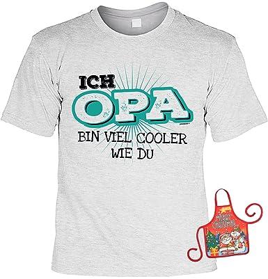 Unbekannt Opa Weihnachtsgeschenk Set Lustiges Sprüche T Shirt