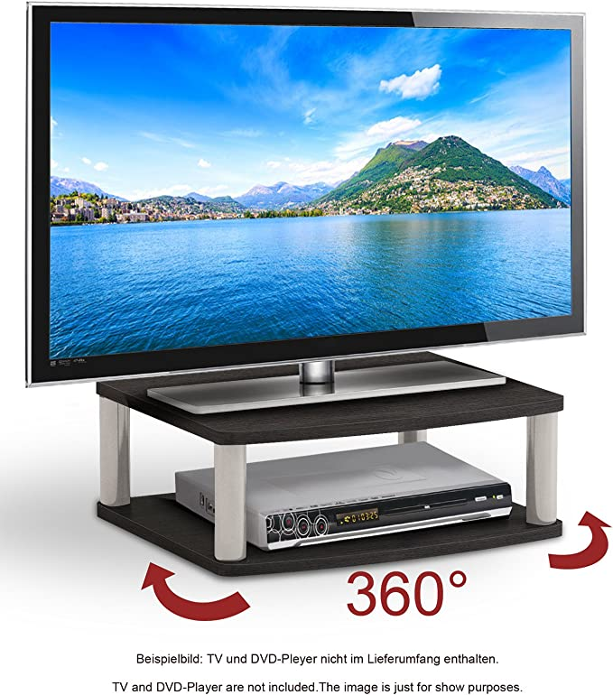 ricoo plateau tournant meuble tv led fs052b meuble tele support televiseur rotatif tv led meubles table ecran plat estrade pour ecran plat pc plaque