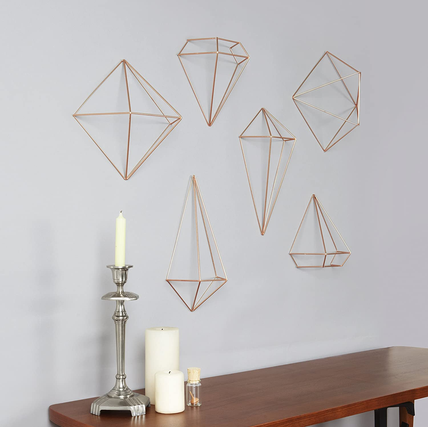 Elegant Amazon.com: Umbra Prisma Decorative Accents, Set Of 6, Copper: Home U0026  Kitchen