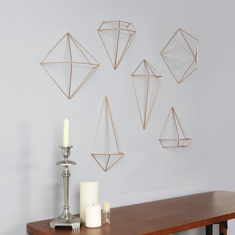 Amazon Umbra Prisma Decorative Accents Set Of 6 Copper Home