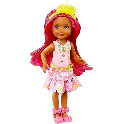 Barbie Dreamtopia Rainbow Cove Sprite Doll - Pink: Toys & Games