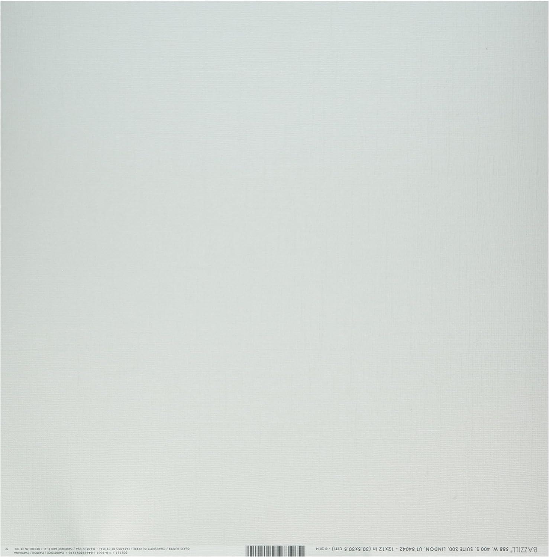 Bazzill Cdstk 12x12 Bling Glass Slipper