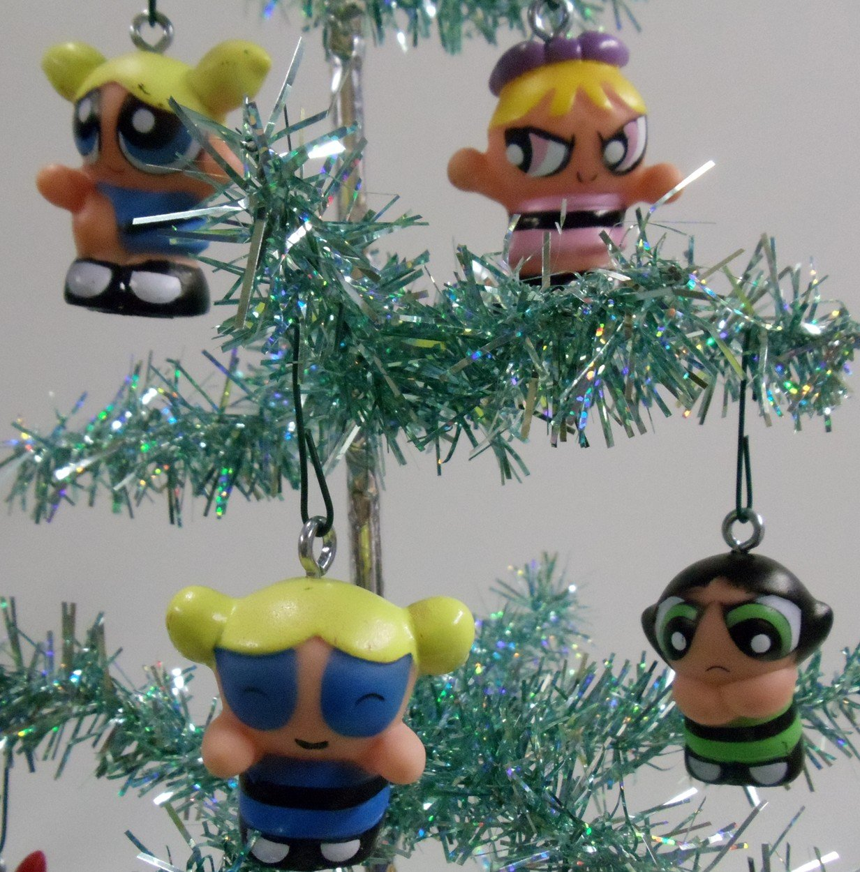 amazon com set of 10 power puff girls christmas tree ornaments