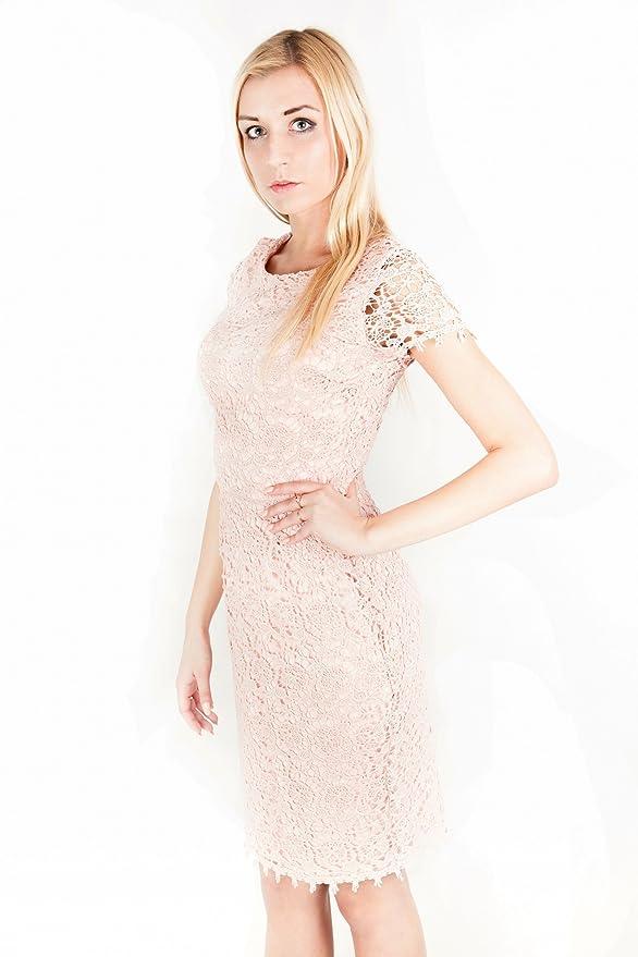 ASOS - John Zack - Vestido - Estuche - para mujer rosa rosa ...