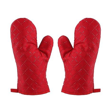 beehome de silicona guantes de horno guantes para horno acolchada ...