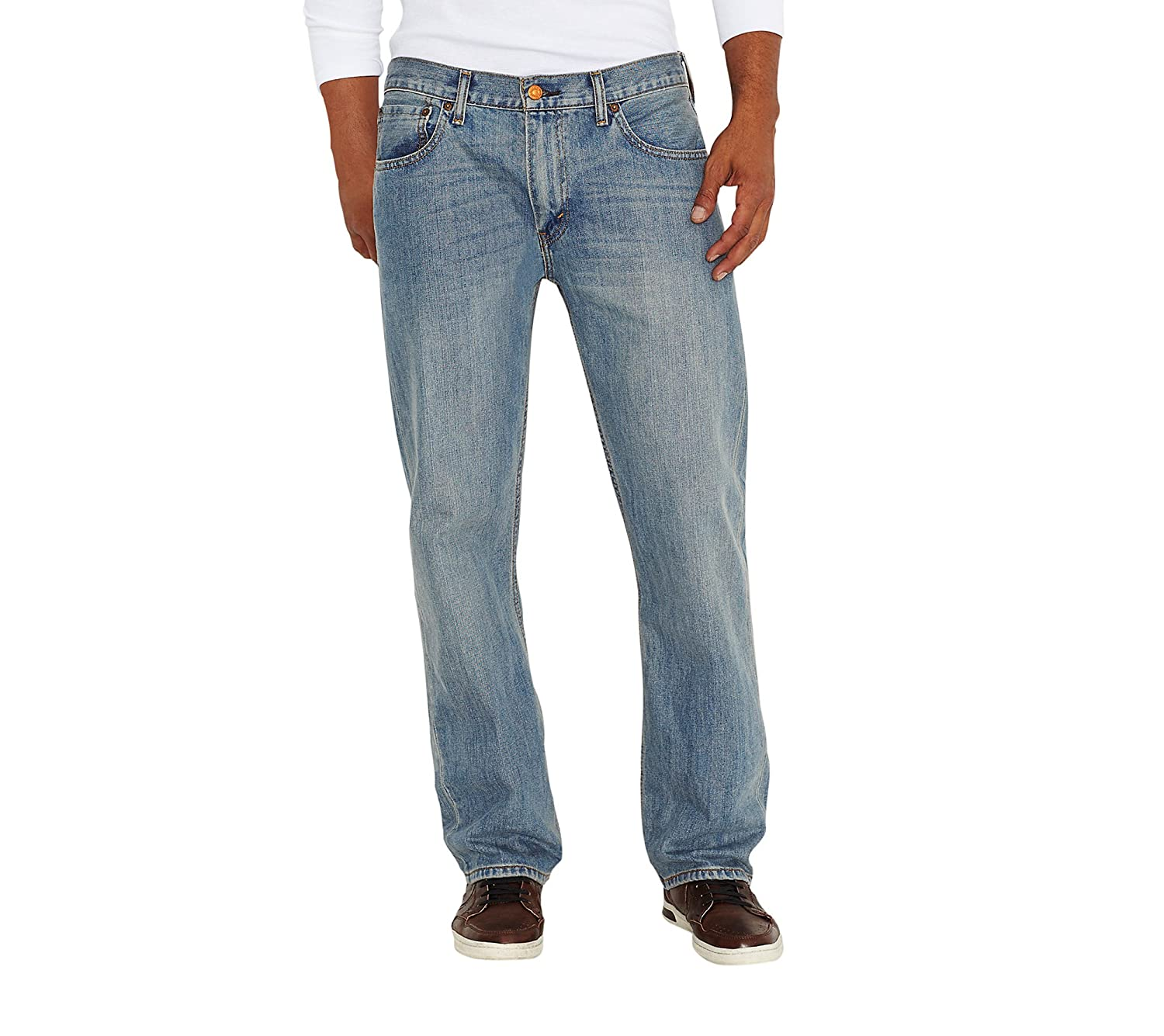 e0581d41 Levi's¿ Mens Men's 569¿ Loose Straight Fit Rugged 42 34 at Amazon Men's  Clothing store: