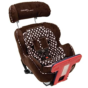 The First Years True Fit C670 Premier Convertible Car Seat Pink Dot