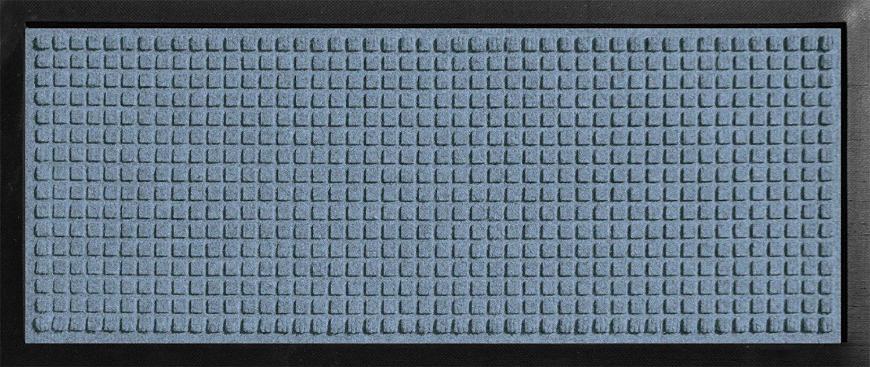 Hudson Exchange 4000 Waterhog Classic Boot Tray, 34'' L x 15'' W, 3/8'' thick, Bluestone