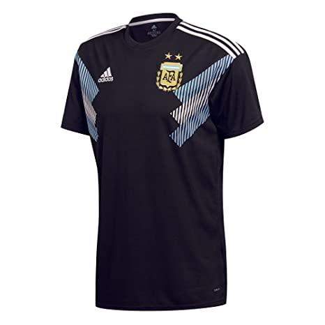 165a4228e28 adidas 2018-2019 Argentina Away Football Soccer T-Shirt Jersey (Kids)