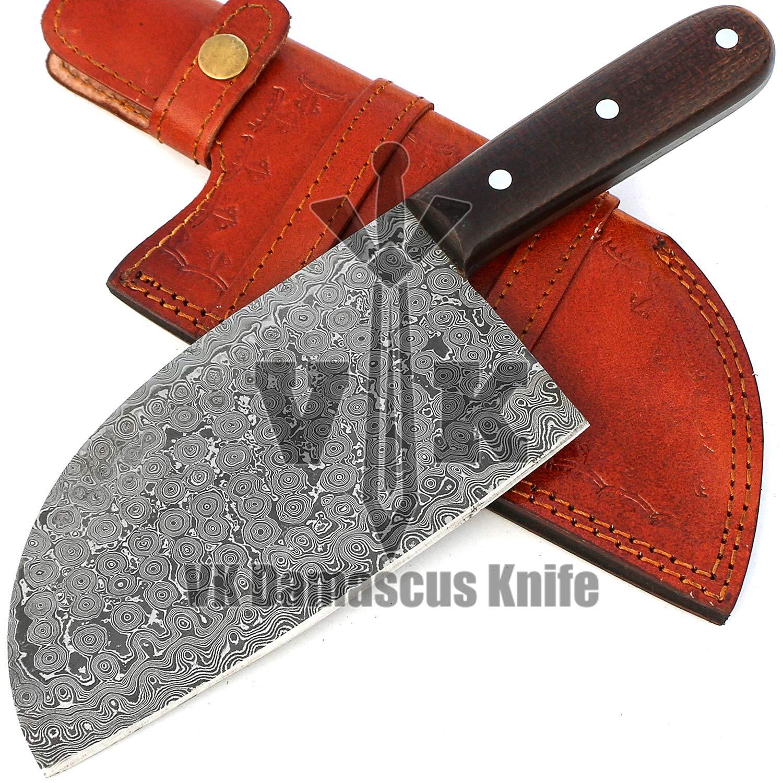 Amazon.com: Hecho a mano acero de Damasco cuchillo de ...