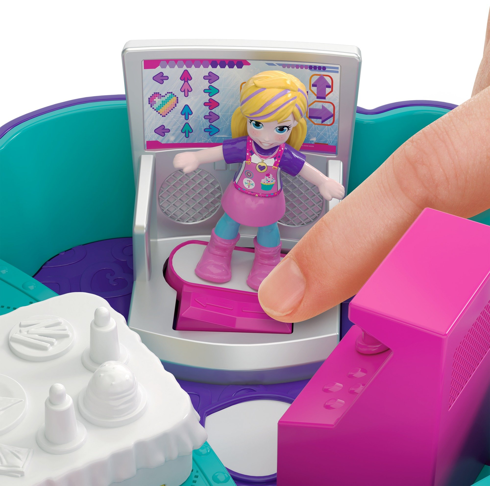 Polly Pocket Sweet Treat Compact Multicolor by Polly Pocket (Image #4)