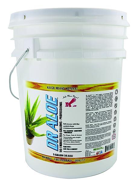 Kelco 50:1 Dr. Aloe Shampoo, 5 gal