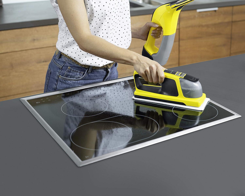 Kärcher Window Vac WV 6 y Window Cleaner KV 4 - Pack de limpiadora a batería (aspirador limpiacristales) y fregador a batería con vibración para ventanas (1.633-570.0): Amazon.es: Hogar