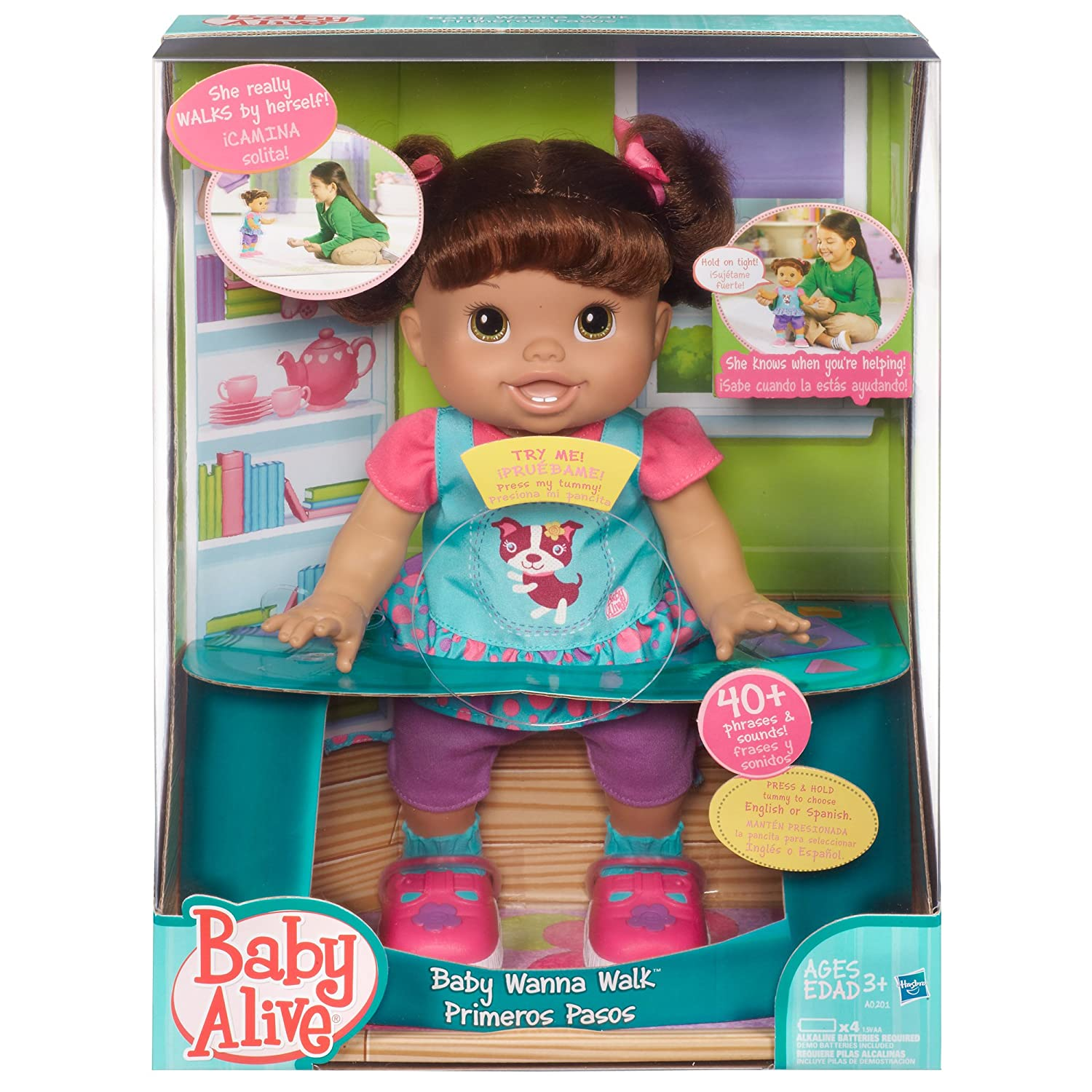 Buy Baby Alive Wanna Walk Doll line at Low Prices in India