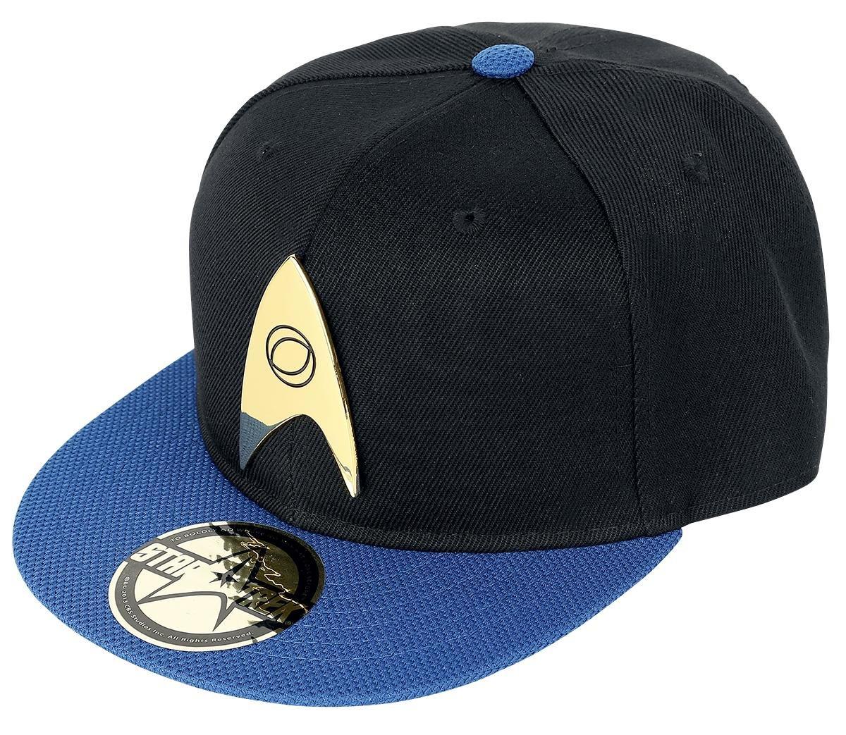 Star Trek Science Logo Snapback-Cap schwarz/blau Elbenwald 1005