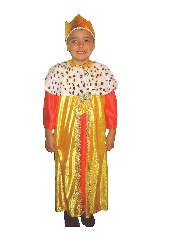 EL CARNAVAL Disfraz Rey Gaspar Talla M (6-8años) - Reyes Magos ...