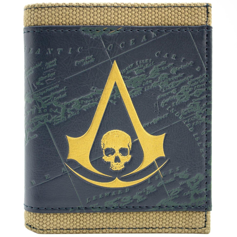 Ubisoft Assassins Creed Bandiera nera Bronzo portafoglio 28365