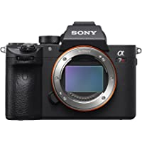 "Sony a7R III Mirrorless Camera: 42.4MP Full Frame High Resolution Mirrorless Interchangeable Lens Digital Camera with Front End LSI Image Processor, 4K HDR Video and 3"" LCD Screen - ILCE7RM3/B Body"