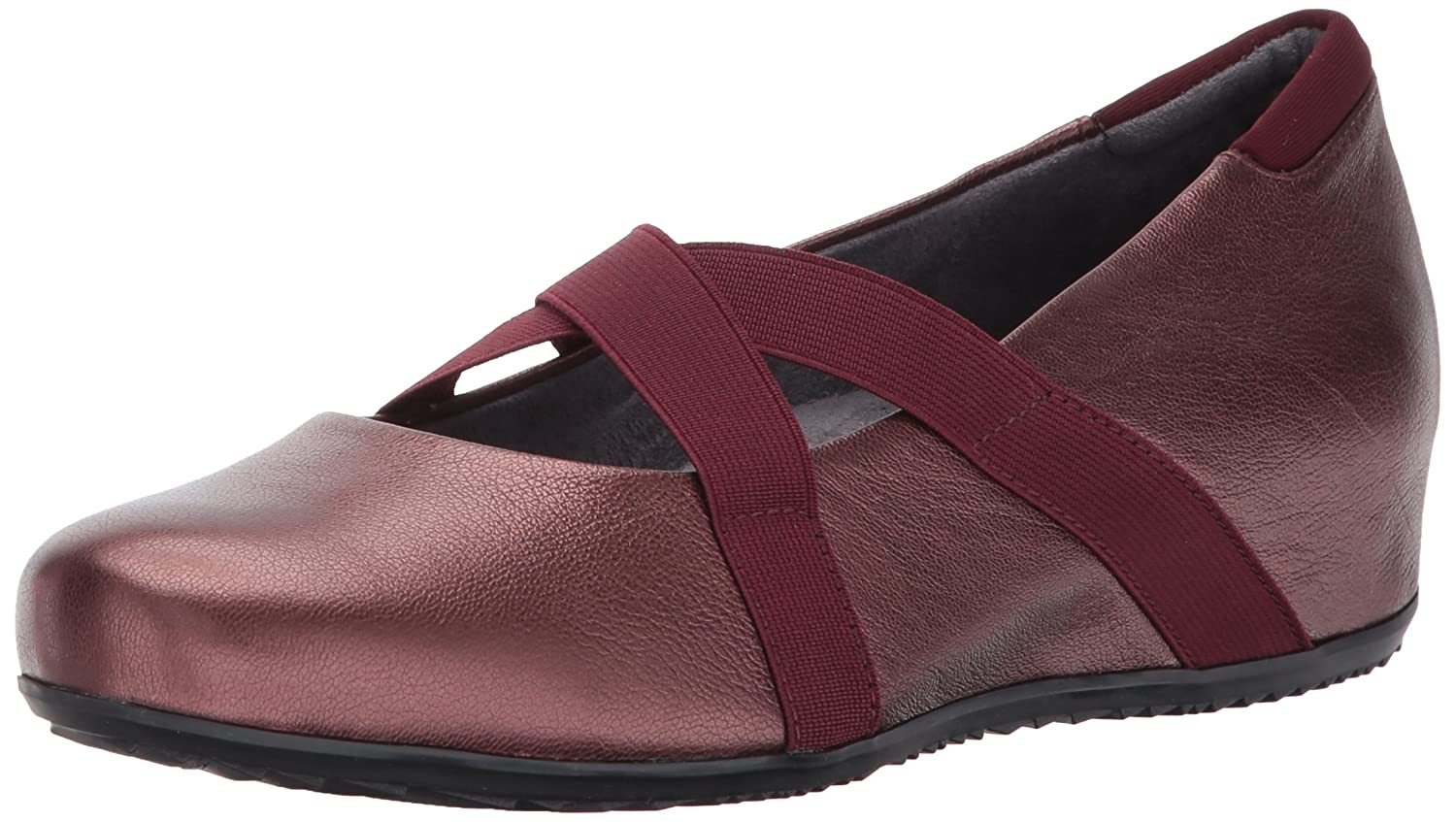 SoftWalk Women's Waverly Mary Jane Flat B01N2WC3AI 9.5 B(M) US|Burgundy