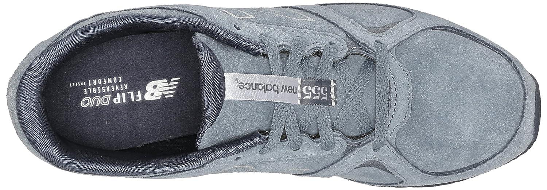 New Balance Women's WL555 Women's Only Casual Running Shoe B00RBJE0IQ 8 B(M) US|Dark Grey