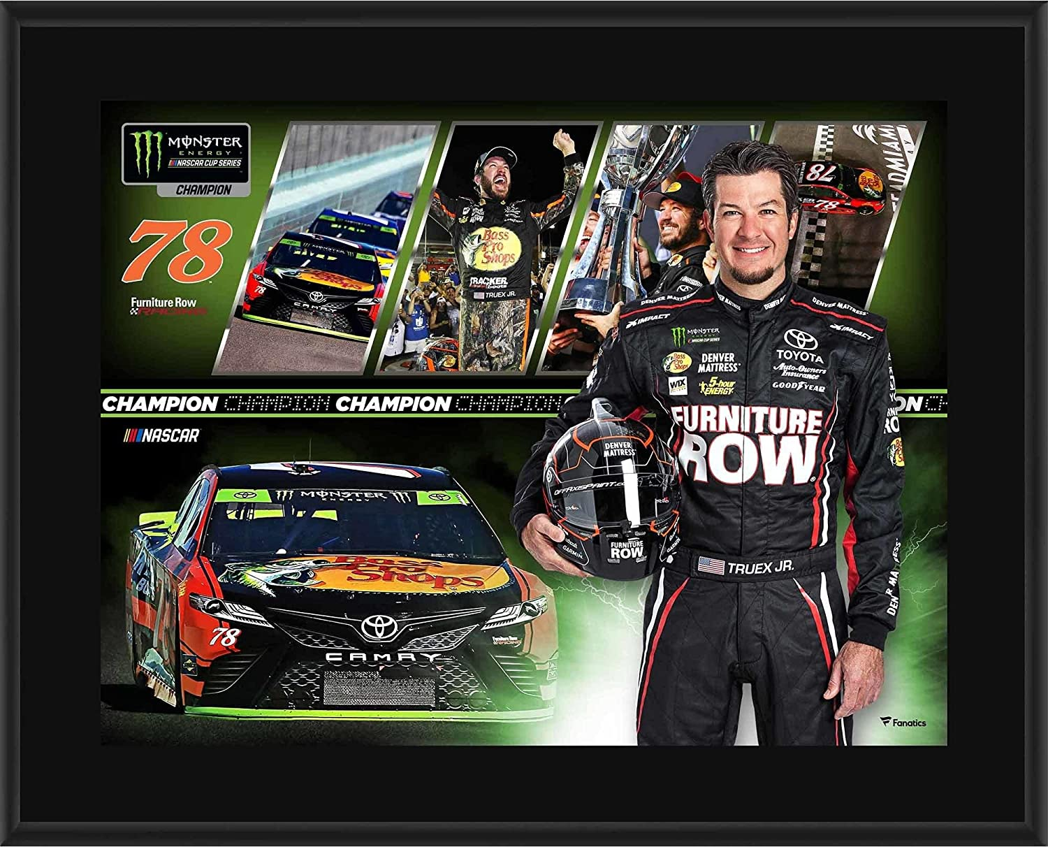 Martin Truex Jr. Furniture Row Racing 10.5