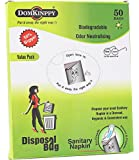 DOMKINPPY Sanitary Napkin Disposal Bag- Pack of 50