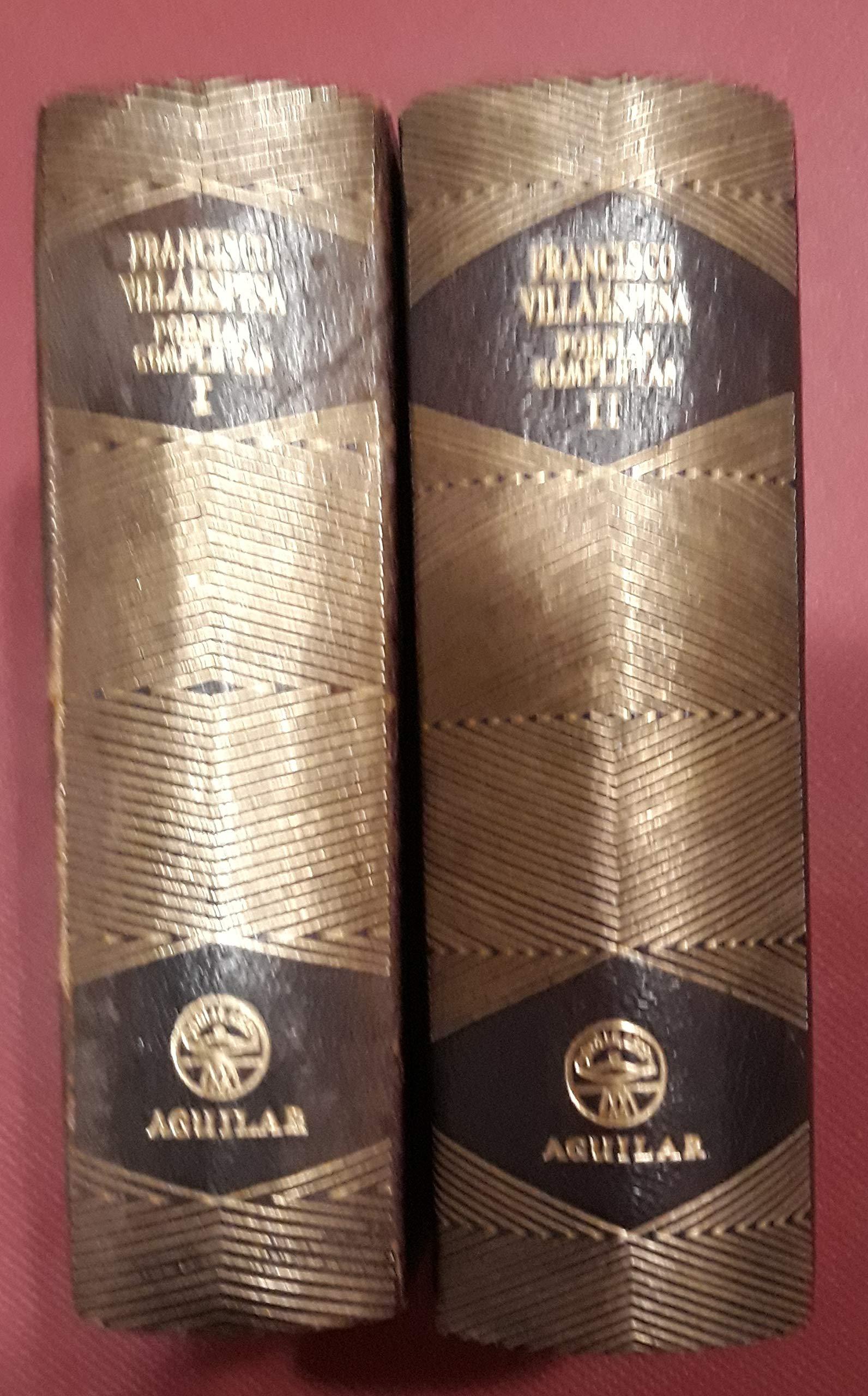 POESÍAS COMPLETAS. TOMOS I-II: Amazon.es: VILLAESPESA, Francisco ...