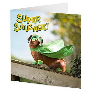 Super hero sausage