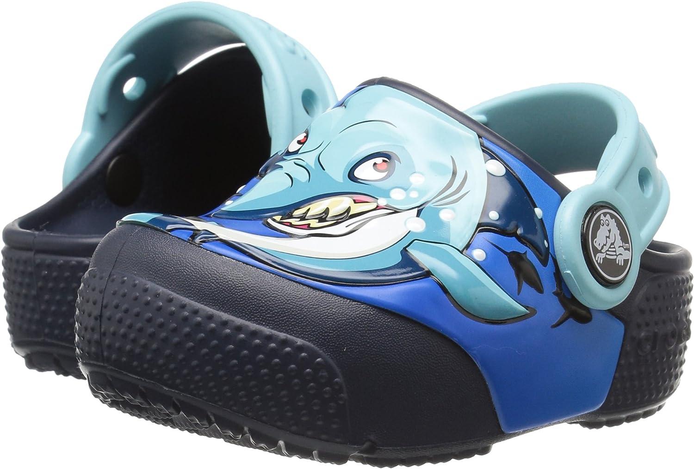 Crocs Kids Fun Lab Shark Light-Up Clog