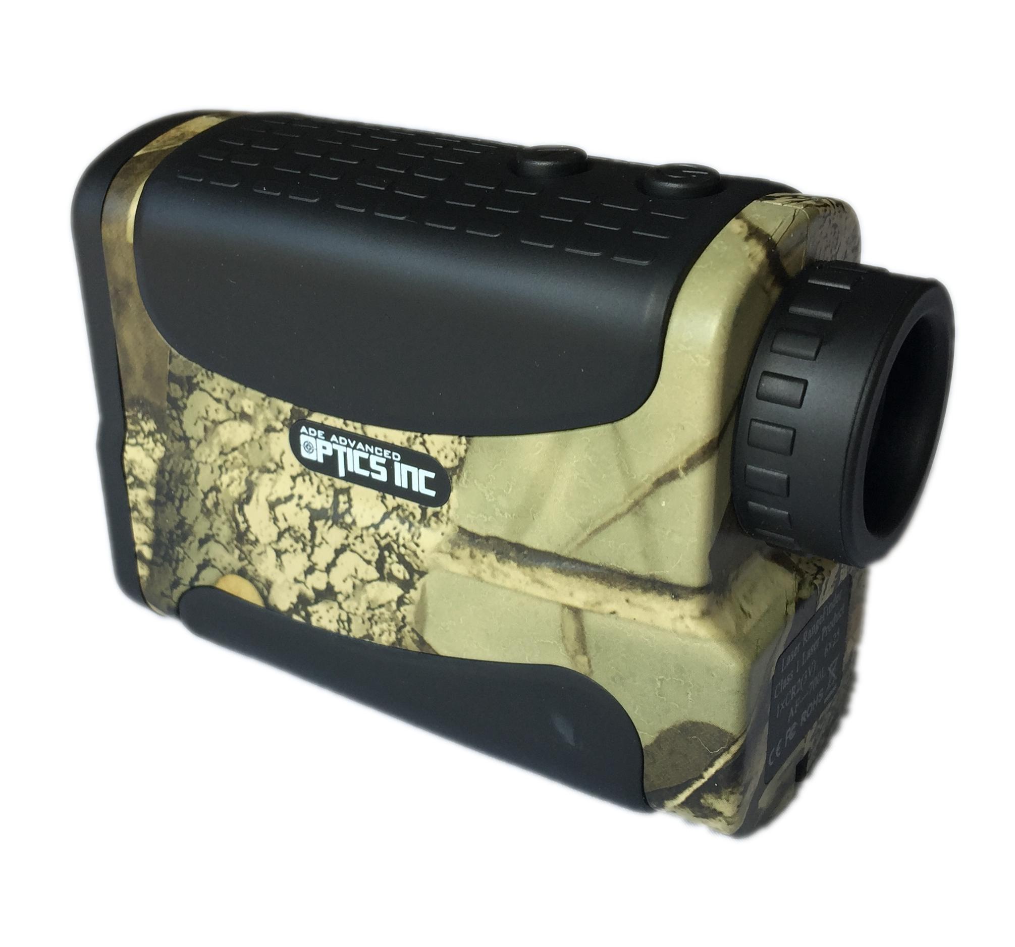 Ade Advanced Optics Golf Rangefinder Hunting Range Finder with PinSeeker Laser Binoculars, Camouflage by Ade Advanced Optics (Image #3)
