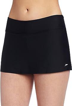 Speedo Bañador para Mujer Powerflex Eco Nadar Falda con Pantalones ...