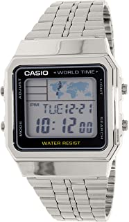 e715e06fc Casio Standard for Women - Digital Stainless Steel Band Watch - A500WA-1