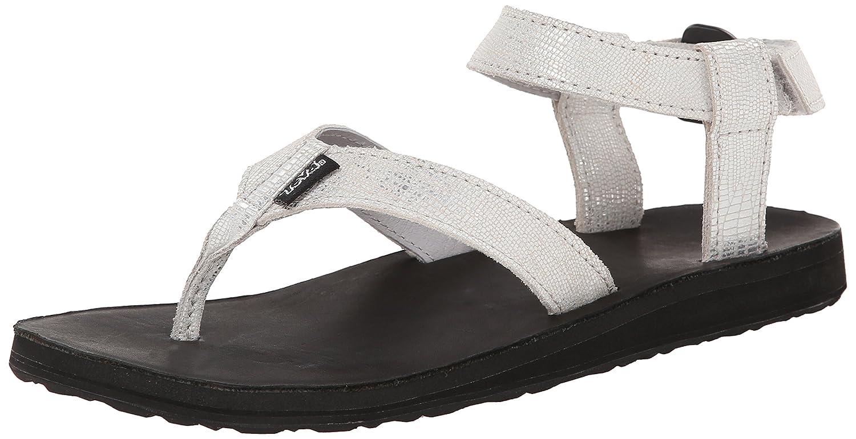 Teva Women's Original Metallic Sandal B00KWMCW02 11 B(M) US|Silver