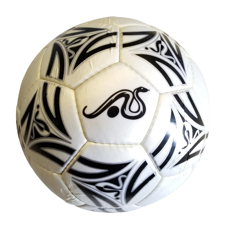 Anacondaスポーツサッカーボールサイズ5ホワイト/ブラックby B07C7PC4T1