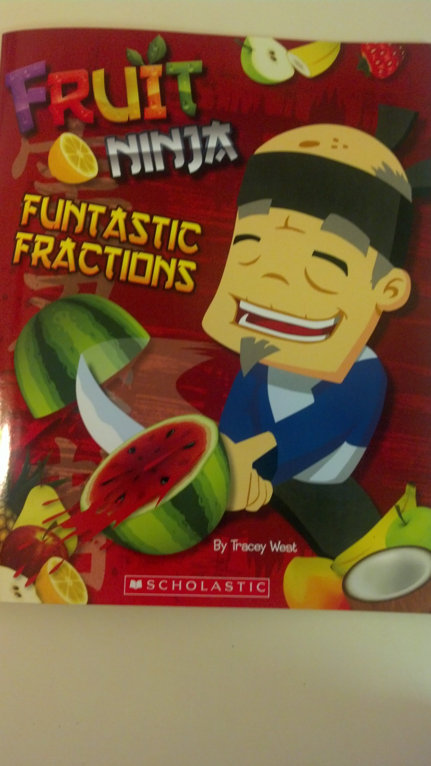 Fruit Ninja - Funtastic Fractions: 9780545541602: Amazon.com ...