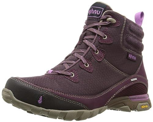 Ahnu Women's Sugarpine Boot WP Dark Burgundy 5 M