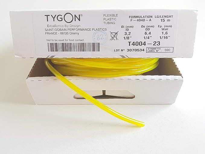 Original Tygon F 4040 A Kraftstoffschlauch Benzinschlauch Ø 3 2mm Baumarkt