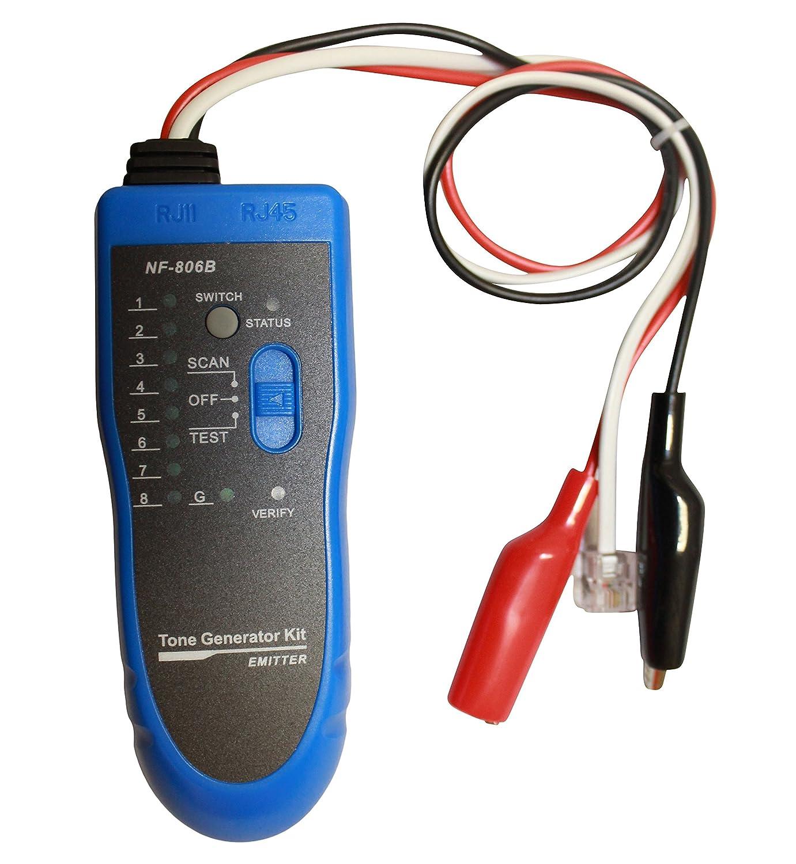 kenuco network rj45 rj11 telephone cable tester wire tracker amazonkenuco network rj45 rj11 telephone cable tester wire tracker amazon ca tools \u0026 home improvement