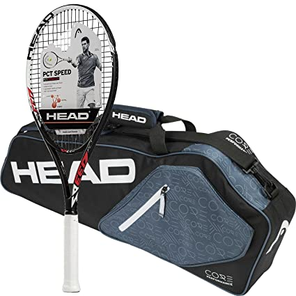Amazon.com : Head PCT Speed Pre-Strung Tennis Racquet ...