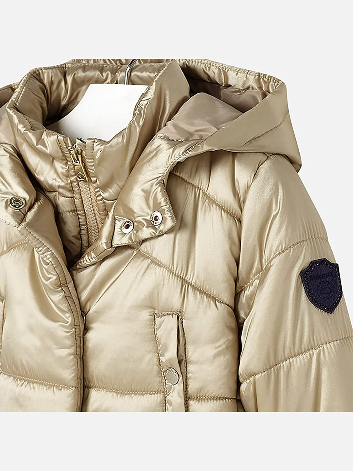 Amazon.com: Mayoral 18-04429-010 - Padded Coat for Girls 2 Years Champagne: Clothing
