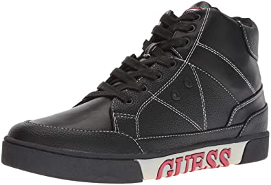 GUESS Mens Annex Sneaker, Black, ...