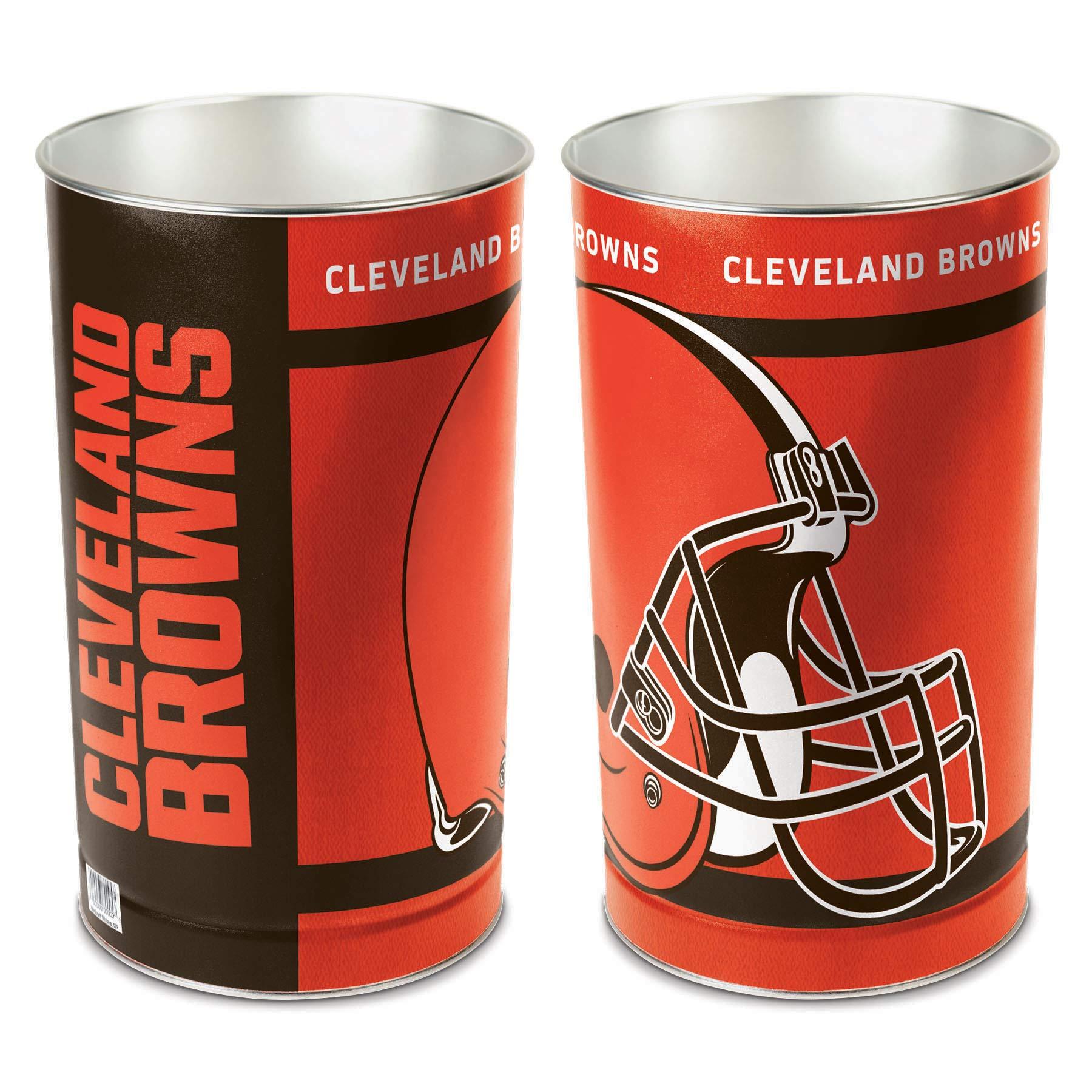 NFL Cleveland Browns Wastebasket