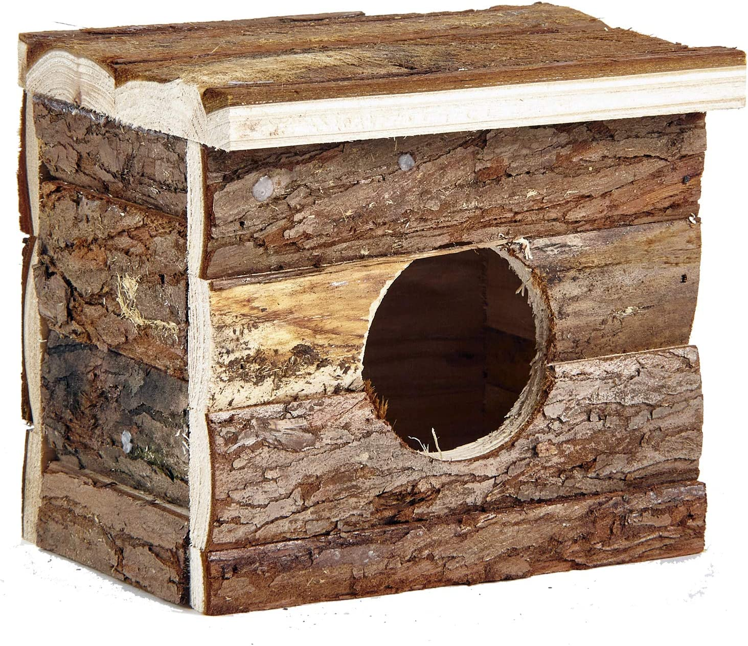 Pet Ting - Caja de Madera para hámster, casa Natural para Ratones, hámsters, Gerbil, hámster