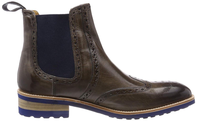 MELVIN & HAMILTON MH HAND MADE SHOES OF CLASS Herren Grau Walter 9 Chelsea Boots Grau Herren (Classic/ Stone/ Ela. Navy/ Aspen Blue Classic/ Stone/ Ela. Navy/ Aspen Blue) 2ca706