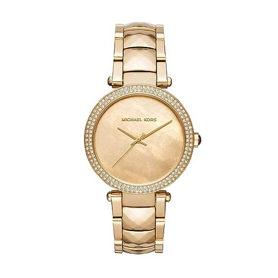 Michael Kors Reloj Análogo clásico para Mujer de Cuarzo con Correa en Acero Inoxidable MK6425: Amazon.es: Relojes