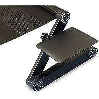 Uncaged Ergonomics WEMPb WorkEZ Mouse Pad Adjustable and Ergonomic, Black