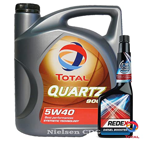 Total Quartz 9000 5 W-40 Aceite 5L + Redex Diesel 0 A 60 ...