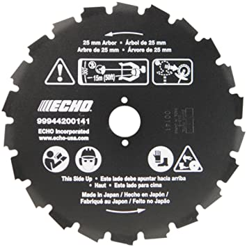 Amazon echo 99944200141 22 tooth saw blade 1 25mm arbor echo 99944200141 22 tooth saw blade 1quot 25mm arbor greentooth Choice Image