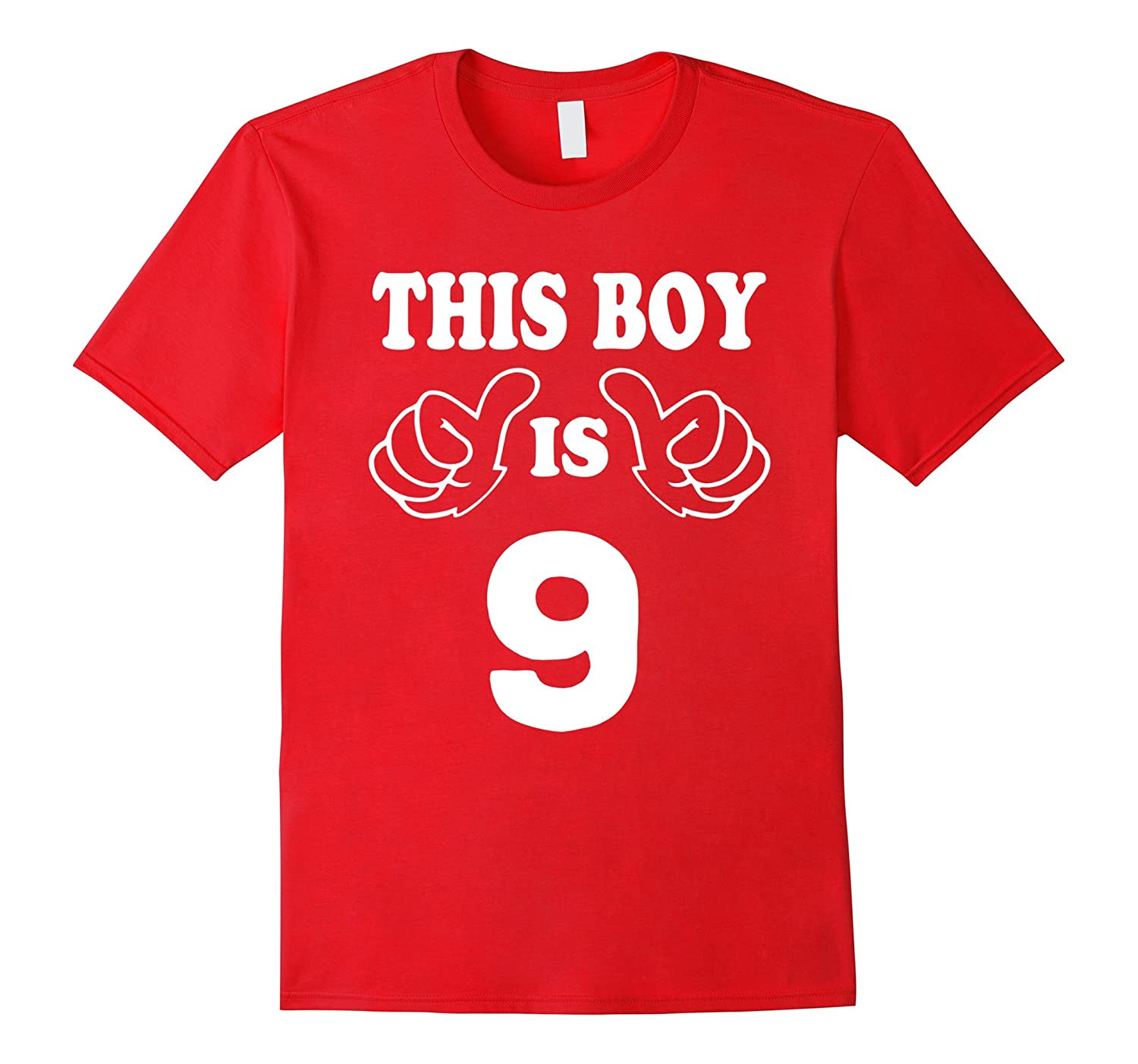 9 Year Old Shirt For Boy Kid 9th Birthday Gift Idea 2008 TD Teedep
