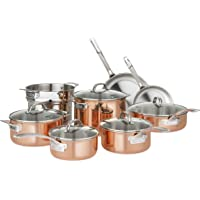 Viking 13 Piece Tri Ply Copper Cookware Set